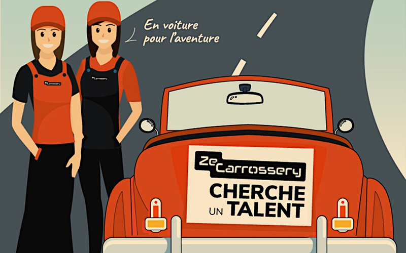offre d emploi carrossier peintre